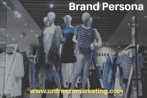 Building a Brand Persona