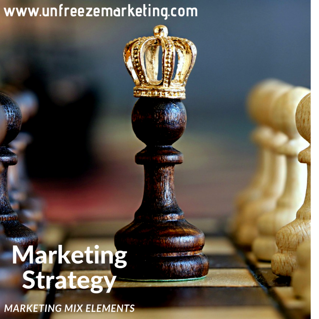 Marketing strategy with first principles